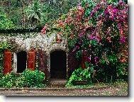 """Предпросмотр схемы вышивки  """"Райский уголок """".  Райский уголок, пейзаж, природа, сады, парки."""