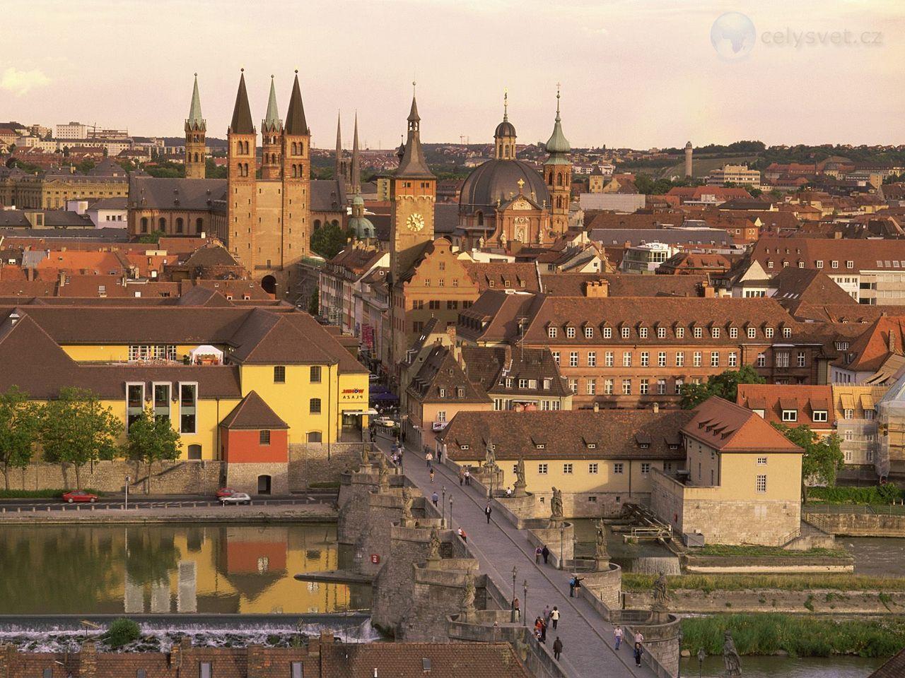 Обои германия, Würzburg, deutschland, вюрцбург. Города foto 11