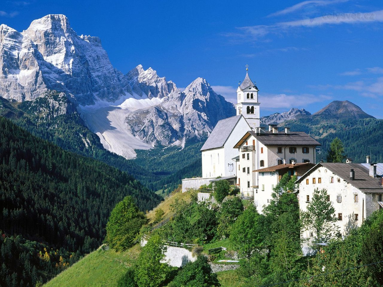 Доломитах Альпы Италия The Dolomites Alps Italy