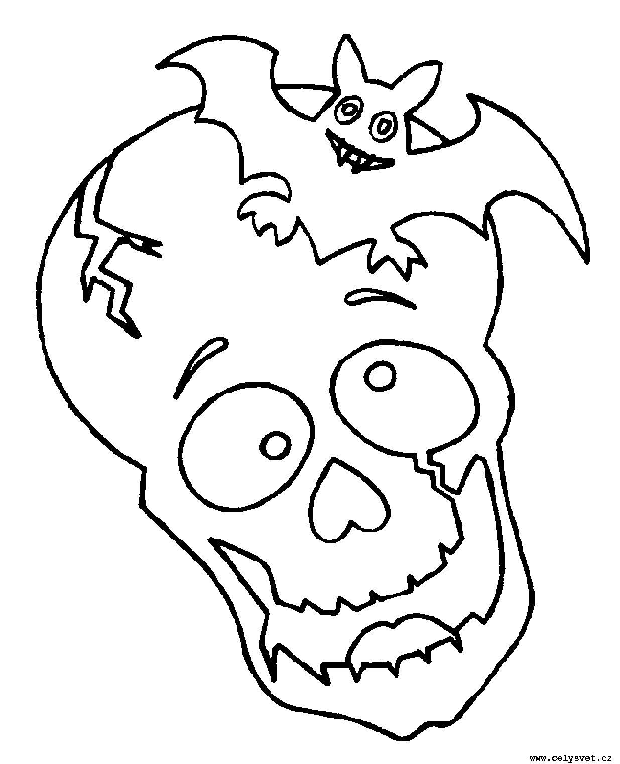 Esqueletos Para Colorear - AZ Dibujos para colorear