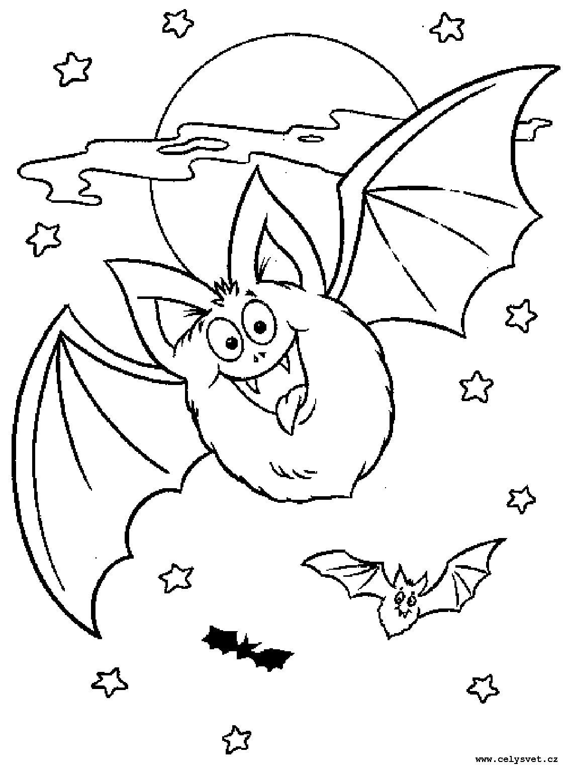 Раскраски на хэллоуин - 8