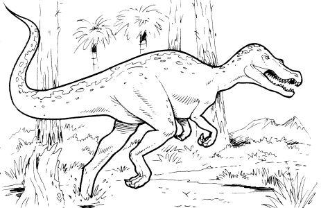 Распечатать раскраски динозавров бесплатно