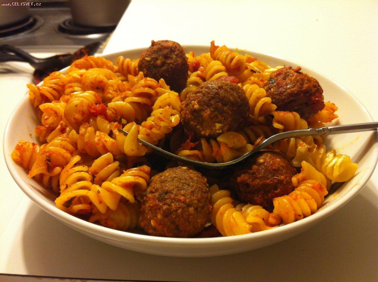 рецепт спагетти с фрикадельками в томатном соусе рецепт с фото