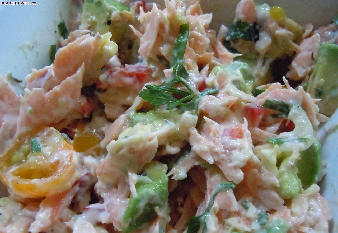 kulinarnyj recept russkij salat s lososem Рецепты вкусных и простых салатов
