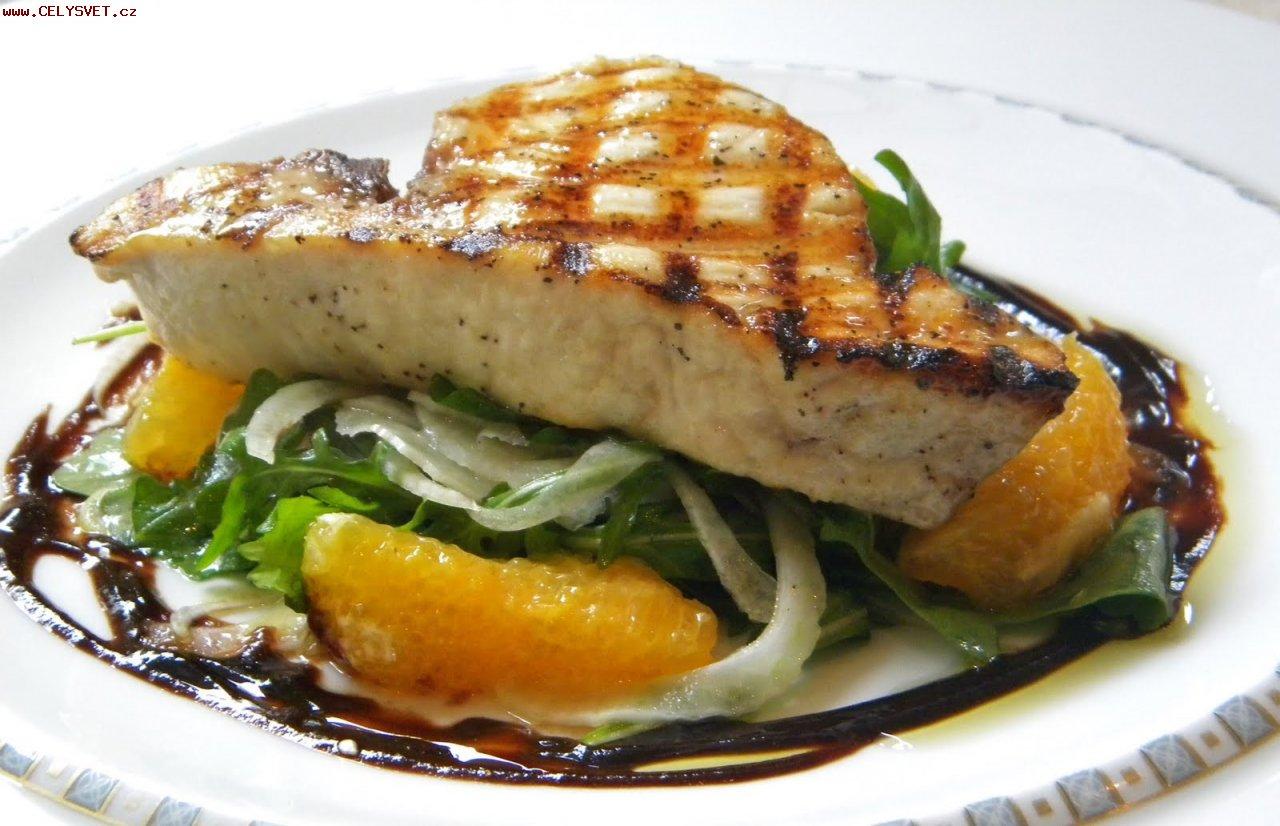рецепт рыбы под апельсинами