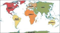 Тест: Континенты